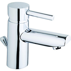 Wickes Asmara Mono Basin Mixer Tap Chrome