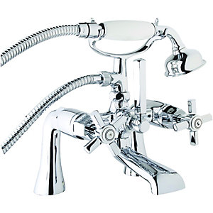 Wickes Panama Bath Shower Mixer Chrome