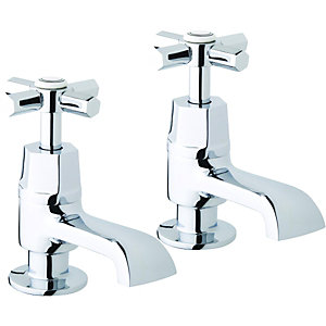 Wickes Panama Basin Taps Chrome
