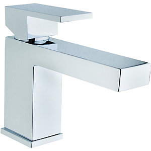 Wickes Kubic Mono Basin Mixer Tap Chrome