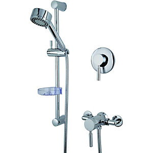 Wickes Rayo Manual Mixer Shower Chrome