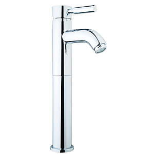 Wickes Rayo Tall Vanity Basin Tap Chrome
