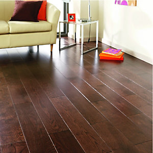 Wickes Wenge Oak Solid Wood Flooring