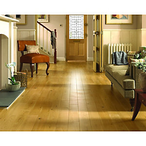 Wickes Cashew Oak Solid Wood Flooring
