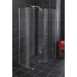 Wickes Organic Walk-In Wet Room Screen & Conversion Kit