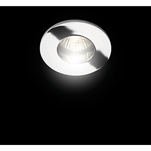 Wickes Mila Fixed Shower Downlight Chrome