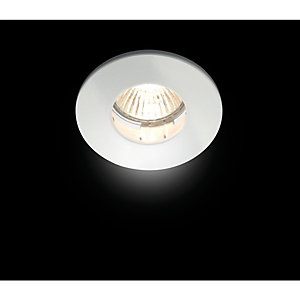 Wickes Mila Fixed Shower Downlight White
