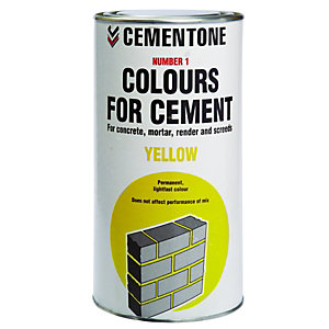 Cementone NO1 Colour for Cement Yellow 1kg