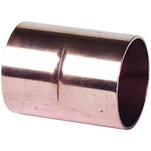 End Feed Straight Coupler 8mm