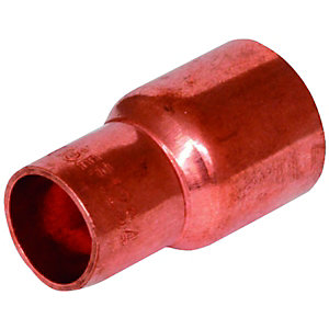 Wickes End Feed Fitting Reducer 15 x 35mm