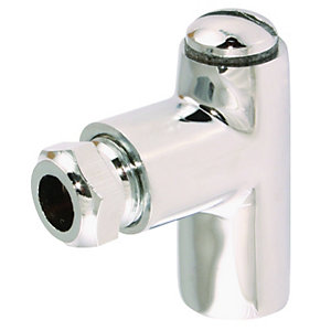 Restrictor Elbow Chrome 1in x 8mm