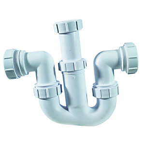 McAlpine WM4 Sink Trap For Tee Vent 38mm
