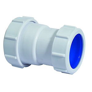 McAlpine Multifit T28L-ISO Straight Connector 38 x 40mm