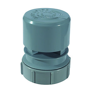 McAlpine Ventapipe 25 Air Admittance Valve with 1 1/2in Universal Outlet VP2W