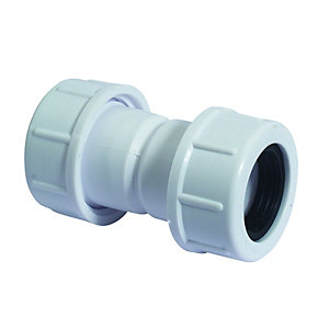 McAlpine R1m Overflow Connector 19/23mm