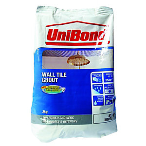 Unibond Anti Mould Powdered Grout 3kg