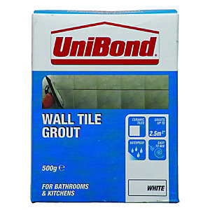 UniBond Wall Tile Grout Handy Box 500g