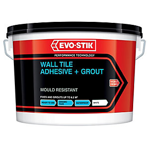 Evo-Stik 416536 Waterproof Tile & Grout 2.5L