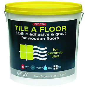 Evo-Stik Flexible Tile Adhesive & Grout For Wooden Floors 10L
