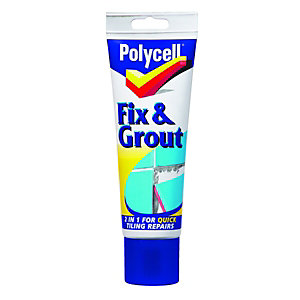 Polycell Tiling Fix & Grout White 230ml
