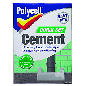 Polycell Polyfilla Quick-set Easy Mix Cement 2kg