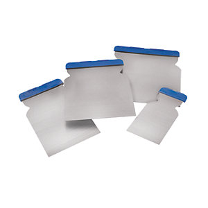 Wickes Euro Filling Knife Blade Set 4 Piece