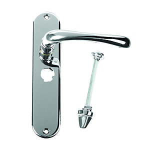Urfic Mayfair Privacy Handle Polished Nickel