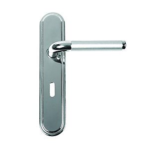 Urifc Vienna Lever Lock Polished Nickel