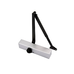 Wickes Door Closer Silver 2-4 En1154 FD100