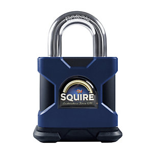 Squire SS50P5 Padlock Open Shackle Steel 50mm
