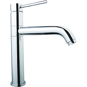 Wickes Lapilli Single Lever Kitchen Sink Tap Chrome