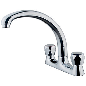 Wickes Trade Kitchen Sink Mixer Tap Chrome
