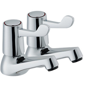 Wickes Medino Basin Taps Chrome