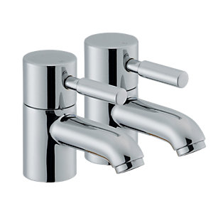 Wickes Rayo Basin Taps Chrome