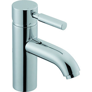 Wickes Rayo Mono Basin Mixer Tap Chrome