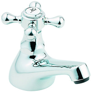 Wickes Classic Bath Taps Chrome
