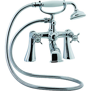 Wickes Mara Bath Shower Mixer Chrome