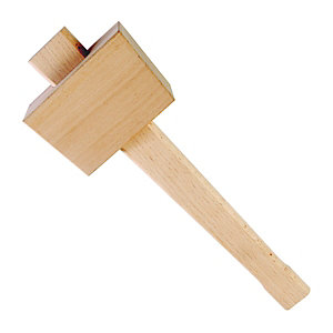 Wickes Beechwood Wooden Mallet 4in