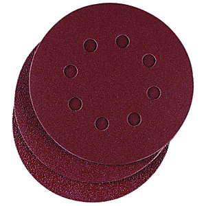 Wickes Assorted Eccentric Sander Discs Pack 10