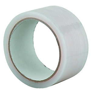 Wickes All Weather Clear Tape 50mmx20m