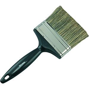 Wickes Creosote & Preservative Brush 100mm