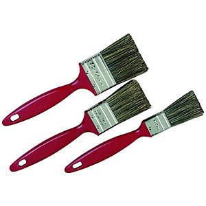 Wickes Trade Paint Brush Set 3 Pack