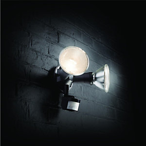 Wickes 120W Twinspot PIR Floodlight