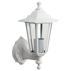 Wickes 60W 6 Sided Lantern White