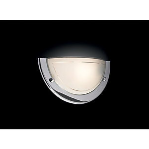 Wickes Geneva Uplighter Wall Light