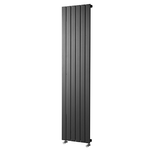 Wickes Haven Flat Panel Vertical Radiator Anthracite
