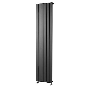 Wickes Haven Flat Panel Vertical Radiator Anthracite 1800x435mm