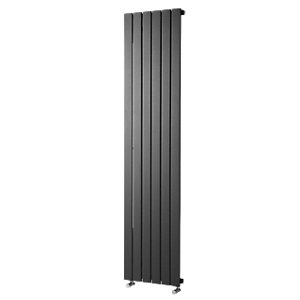 Wickes Haven Flat Panel Vertical Radiator Anthracite 1800x604mm
