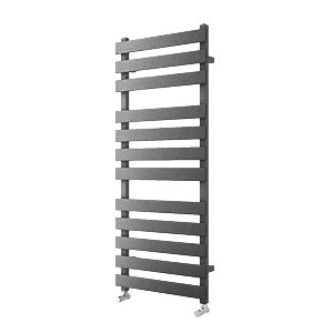 Haven Flat Panel Horizontal Anthracite 1200x500mm Radiator