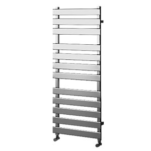 Haven Flat Panel Horizontal Chrome 1200x500mm Radiator